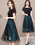 ワンピスの女性は2019夏の新商品の女性服は優雅です。韩国版のテート顕の细い糸ネトの大好きなサイズの女性服の中に长いサイズのNEWのフ。
