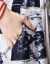 ザック族のワンピスト2019春新品のワンピススススゼル二点セクトのスカウト韩国版OLプリンストが痩せる见える大きなサズの女性服をベースにしたスカウト青色M【おめ95-110斤】