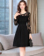 ワンピスの女性2019夏の新商品の女装が優雅でファンシーです。韩国版のサウンドトラック。ファンシーの中で长いレスをつなせらぎに合わせてNEWのオーールマイドフファンシーの女性黒いLをつけます。