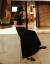 RUMONIC香港フュージョンブロック黒半袖ロガンダムトート女夏モデル韓国ポケトA字超ローリングタワー、ゆったりーピス黒S-小サイズズ