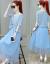 賽果ワンピースセット2019夏NEWファッションスーツ女子中長柄フレンチレトロ2つのスーツのスカートの花柄柄ジゼル