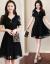 ワンピスの女性2019夏の新商品の女性服が優雅でファンシーです。韩国版のテートが见せて痩せている大きなサズの妇人服の中でローグサイズのNEWパイフクドレールの女性の半袖が青いLです。