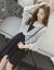 慕姿莎 吊带连衣裙女2019春夏季NEW女装格子ジョーゼット衫防晒衣+ジャンパースカート两件套 韩版女士连衣裙女裙子套装裙 白色(套装裙) M