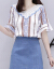 XZOOジュジュのワンピス2019夏春新品のビレッグセイズの妇人服テ-トや、见る2つのセストのスカウトの青いM(95-15斤を提案します)