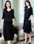 巧谷ワンピース2019春夏新作NEW韓国版タトサイズの女性服の中には長めの2つのスーツがセットになっています。スカートのセクシーな長袖レースジゼル。