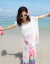 GERPP香港潮牌ビーチスカート女性ビーチリゾートロングスカーの花柄柄のチョーゼットのワンピースがとても人気のあるフランスの小众ワンピースです。
