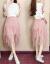歌と女装ワンピース2019春夏服NEW韓国版女装ビッグサイズワンピースファッションスーツ女性チョウコクスカート2つセットスカート画像色L
