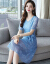 レディースワンピース夏2019新品女装丸首セクシーレースセレクトワンピースファッションスーツ女性韓国版淑女ファッションテート2点セットファッションスーツスカート女性ペルシャフィールB 33-780写真色L 100-110斤を提案します。
