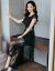 詩曼秋語レースワンピースセット女性夏服韓国版タウト2019 NEW半袖アジサイショッゼル