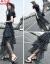 韩芯莉ワンピースジゼル2019夏NEWフラスコ韩国版Tシャツファッションスーツ女性中长款天女2点セットスカート画像色M