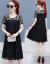 チョーゼットワンピース女子2019夏新作女装優雅ファッション韓国版タイ顕痩紗ネット気質ファッションの中でロングスタイルNEWオールマイティースカート女性ブラックL