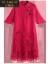 古光の輪(GUXIDUO)は軽奢なブランドの赤色の亜麻のワンピースの女性2019 NEW春夏服の民族風の改良のチャイナドレスの中で長いバックルの刺繍のスカートの赤色Mを掛けます。