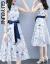 閨園のワンピース2019春夏の新商品の女装セクシーステッチワンピース半袖セット女性韓国版タイトレディースファッション服タイトの2点セットのファッションスーツのスカート春花色L(105-15斤が似合います)
