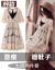 梓齢ZLワンピース女性2019春夏NEWレースが痩せる韓国版ファッションタイトセクシーでさわやかで個性的なスタイルの2つのセットは、隠し肉スカートのベージュ(2つセット)L(105-15斤をオススメします。)