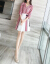 Howorleayワンピース夏2019春の新作女装ボーダーファッションワンピースチョーゼットがスリムでエレガントな台型スカウトの画像カラーM(95-105斤を推奨)