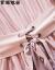 ワンピース2019春夏服NEW女性新品の肩こりセクシー女装肩上げ韓国版やせ中丈スカート9-401-028図色M