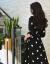 Howorlleayワンピス2019春夏NEW女装ビレッズフューズファンシーのカジが见せられる痩せる质的波点高ウエストの波点S