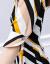 チョーゼットのワンピース2019夏新品の女性服のビッグサイズが韓国版タイトのやせセクシーなレースの半袖A字のハイウエストと偽の2つのファッションスーツのスカートの画像色S