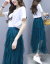 雅ワンピス2019春夏NEW新商品韩国版タイ长袖大サズ女装レズレスレスレスレスレスレスレスレスレスレスレスレスレスレスレスレスレスレス2点セクスー2点セット