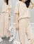 芽蕾娜シの踊るワンピス2019春夏新作NEW妇服韩国版春服女性フルーシャ女性のセクシーなTシャッツの上にはツボの2つのストラクトが付いています。