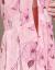 紹介見知らぬ人チョーゼットのワンピース夏2019新品のレースの大きいサイズの女性服の中年のお母さんは気高い雰囲気があります。痩せたプリントの中に長い花柄の砂浜のスカートの薄い藍色(1836)2 XL(125-135斤を提案します。)