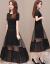 ワンピス2019春NEW婦人服韓国版はウエトが細く見える中、長い優雅さでスティングです。