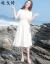 戈绮ワンピース夏2019 NEWフレンチレトロジョーゼットスカートひざ上高ウエストフランス小群白の仙女スカートワンピースZ 112白AタイプS