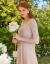 Qiushuiyirenワンピース2019夏服NEWの女性服を予約しています。とても人気のあるフランスの女神のワンピース2点セットの白いみかん(7.5予約)165/88 A/L