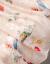 ゼリー影ジゼルのワンピース2019夏NEW女装韓国版プリントのウエストが細く見える中、長めの花柄スカートの女性画像色プリント2 XL