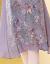 おしゃれで渋いシュミレーションワンピース女装2019夏半袖NEWショルゼル夏タイの花が細く見えるビーチスカートT 3032写真色M