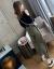 美又レワンピースセット女性2019夏秋服新品大サイズ女装ファッション二点セット復古ワンピースカージュアルスカート女性黒Tシャツ+下積みL