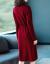 谷顔ワンピースニート2019年秋冬新品韓国版ファッションタトが見せた痩せたセーターに膝を通してコートの中の長いタイプの外にベースのスカートを穿きます。