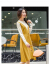 INMAN 2019冬服NEW文芸復古丸首突き色ベルトニト長袖ワンピース女性【F 894101752】イエローM