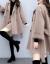芳矜紡スーツワンピース2019秋冬NEW新品韓国版女性服2点セットスカート毛です。コートのショーケーススカートカージュアルファッションスーツの女性用スカートのセクシーなワンピースの色(ベージュ)S
