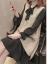 赤トンボのワンピース2020年春NEWビッグサイズ女装太った妹のベストニート+ワンピースの2つのセットはゆったりとしたファッション洋風のボトムスと白の平均サイズです。