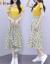 Elycraワンピス2点セクト2020夏NEW妇服韩国版半袖Tシャッツライト上半身スカウト见せてください。