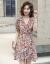 シェイプアップワンピース女性2020夏NEW小花小柄ワンピース女性ファッション行初恋スカートタイスカート画像小花色対応サイズをお願いします。