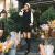 朗悦女装秋韩版直筒打底ワンピース小香风つづり中ローリングカートLWQZ 181304黒M