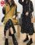 逸宛ywワンピース女子2020 NEW韓国版太っていて、ゆったりしたサイズのセーターベストベストベストベストベストベストベストベストベストベストベストベストベストベストベストベストベストベストベストベストベストベストベストベストベストベストベストベストベストベストベストベストベストベストベストベストベストベストのスリムなワンピースのスリムな年齢の2つのセットの中でローングカートの年齢が減っている黄色のセーター+黒い花柄のスカート4 XL【お勧め160-180斤】