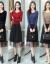 レチニートのワンピース長袖秋冬服2020年NEWウエストをしめてお腹を隠して女装して流行します。コートの底のスカートの赤色M(85-100斤を提案します。)
