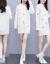 杜尚希思ワンピース女性2020秋冬NEW長袖ゆったり中丈ビッグサイズ婦人服ショーゼット雪花刺繍セーターブラックフリーS-2 XL(90-155斤)